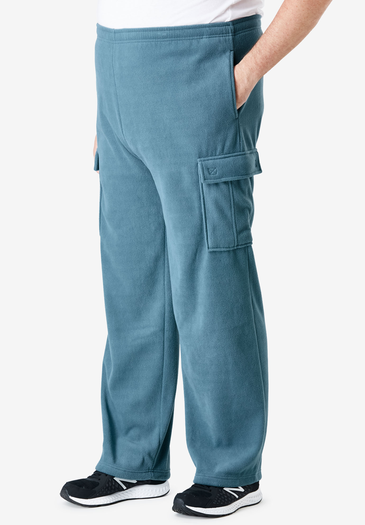 Explorer Plush Fleece Cargo Sweatpants,