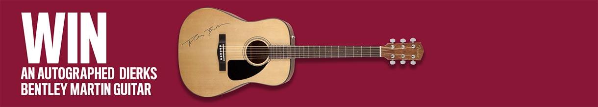 Win an autographed Dierks Bentley Martin Guitar