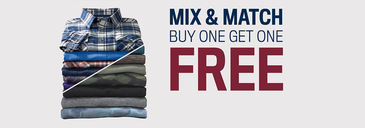 Mix and Match, Buy One Get One Free