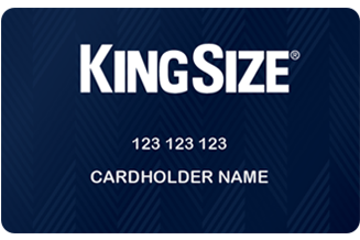 KingSize Credit Card